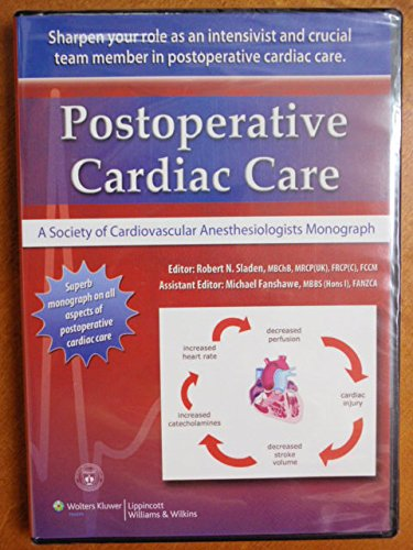 9781451127683: Postoperative Medical Care: A Society of Cardiovascular Anesthesiologists Monograph