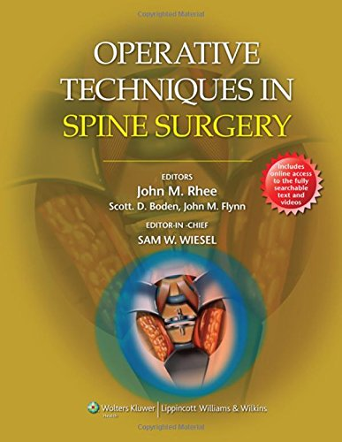 9781451127690: Operative Techniques in Spine Surgery