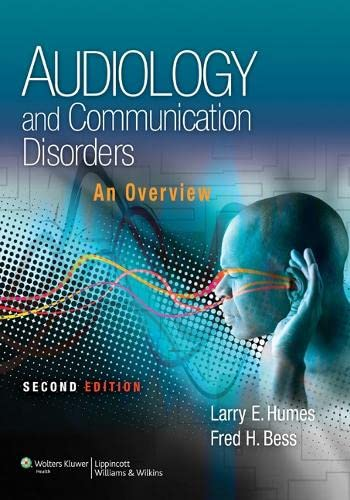 9781451132137: Audiology and Communication Disorders: An Overview