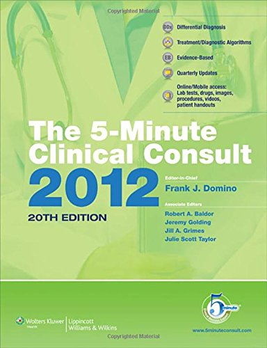 The 5-MinuteClinical Consult 2012 Premium: Domino MD, Frank