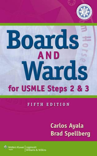 9781451144062: Boards & Wards for USMLE Steps 2 & 3 (Boards and Wards Series)