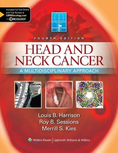 Head and Neck Cancer: Sessions Roy B.