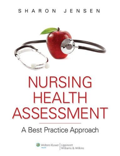 9781451145014: Jensen Nursing Health Assessment 1e + Jensen Nursing Health Assessment Online 1e Package