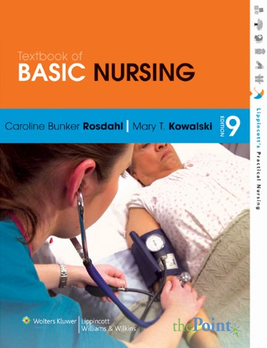 9781451153545: Rosdahl Textbook of Basic Nursing 9e, & Rosdahl SG 9e, & Boundy Text, & Stedmans HP Dictionary 17e, & Taylor VG 2e & Karch LNDH2012 Package
