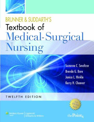 Smeltzer 12e Textbook, Handbook 12e & PrepU for Med Surg and Hankbook for Lab & Diagnostic ...