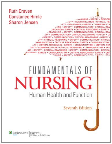 9781451170597: Fundamentals of Nursing: Human Health and Function, 7th Edition