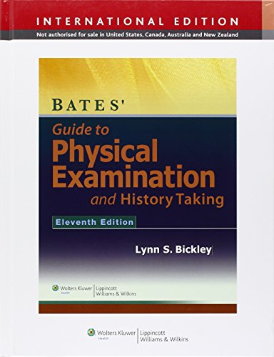 9781451175646: Bates' Guide to Physical Examination and History Taking