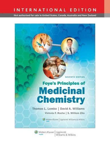 9781451175721: Foyes Principles of Medicinal Chemistry