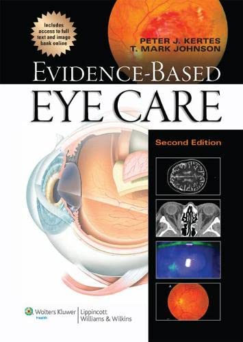 9781451176384: Evidence-Based Eye Care