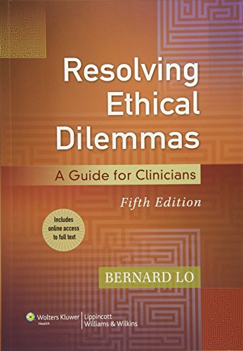 9781451176407: Resolving Ethical Dilemmas: A Guide for Clinicians