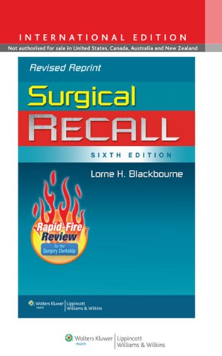 9781451176421: Surgical Recall
