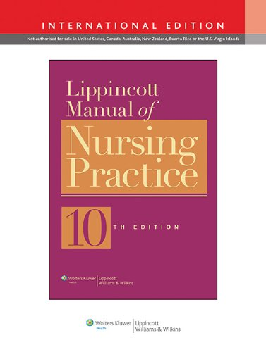 9781451176483: Lippincott Manual of Nursing Practice