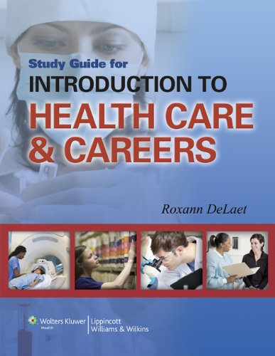 9781451177336: Study Guide for Introduction to Health Care & Careers