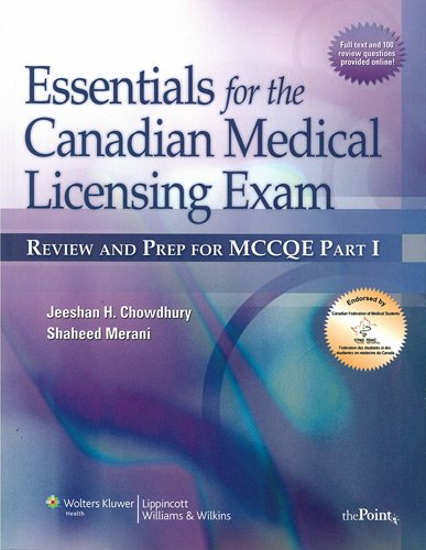 9781451182651: Essentials for the Canadian Medical Licensing Exam