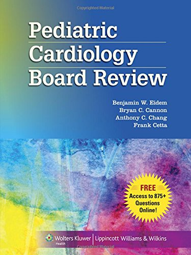 9781451183771: Pediatric Cardiology Board Review
