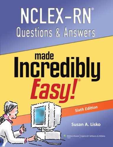 9781451185492: NCLEX-RN Questions & Answers Made Incredibly Easy! with Access Code