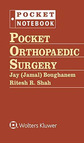 9781451185669: Pocket Orthopaedic Surgery (Pocket Notebook Series)