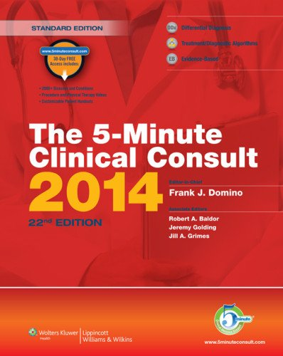 The 5-Minute Clinical Consult Premium Print + Online 2014 (The 5-Minute Consult Series): Domino MD,...