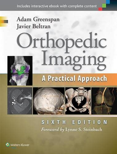 9781451191301: Orthopedic Imaging: A Practical Approach