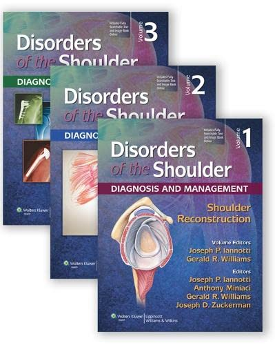 Lippincott - Disorders of the Shoulder: Diag