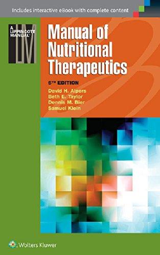 9781451191875: Manual of Nutritional Therapeutics (Lippincott Manual Series)