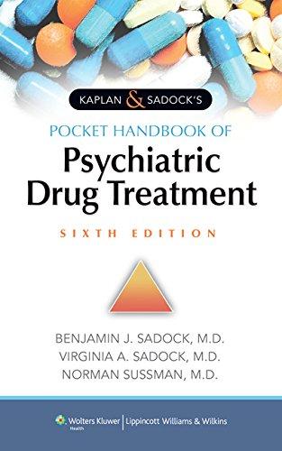 9781451192254: Kaplan & Sadock's Pocket Handbook of Psychiatric Drug Treatment