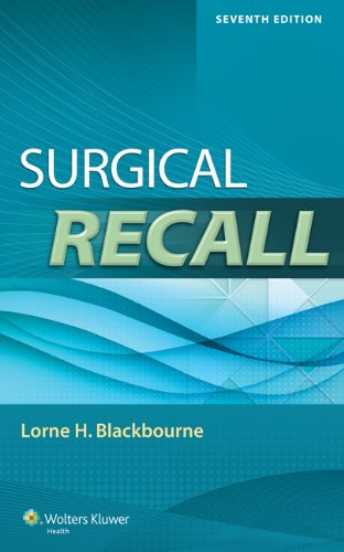 9781451192919: Surgical Recall (Recall Series)