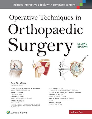 Operative Techniques in Orthopaedic Surgery (4 Volume Set): Samuel Wiesel