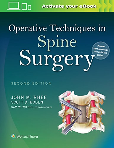Operative Techniques in Spine Surgery: Rhee, John
