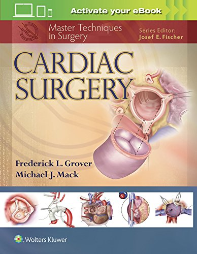 9781451193534: Master Techniques in Surgery: Cardiac Surgery