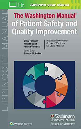 9781451193558: Washington Manual of Patient Safety and Quality Improvement (Lippincott Manual Series)