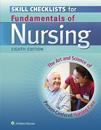 9781451193664: Skill Checklists for Fundamentals of Nursing: The Art and Science of Person-Centered Nursing Care