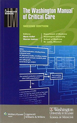 9781451193879 the washington manual of critical care lippincott rh abebooks com Washington Manual Review of Systems Washington Manual Inpatient