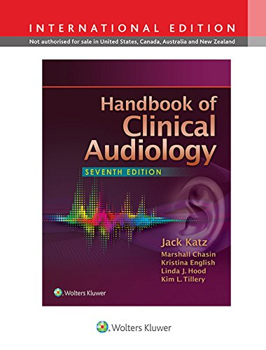 9781451194050: Handbook of Clinical Audiology