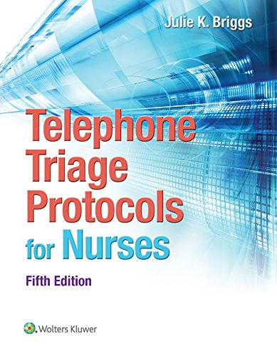9781451194296: Telephone Triage Protocols for Nurses (Briggs, Telephone Triage Protocols for Nurses098227)