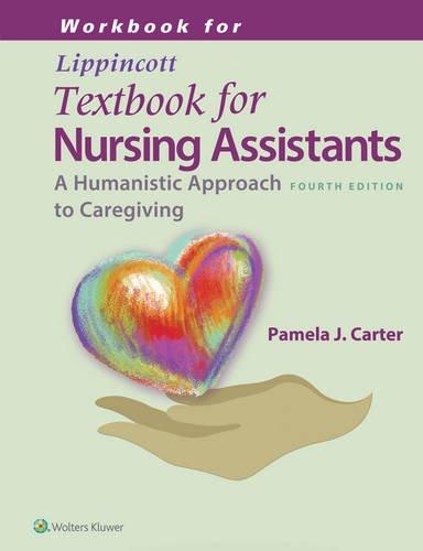 9781451194746: Workbook for Lippincotts Textbook for Nursing Assistants