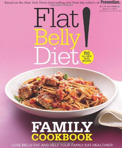 9781451376845: Flat Belly Diet! Family Cookbook