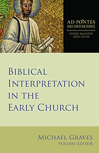 Biblical Interpretation Early Church