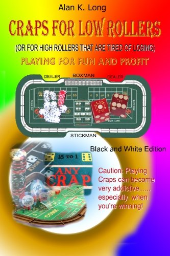 9781451524017: Craps For Low Rollers: Black and White version
