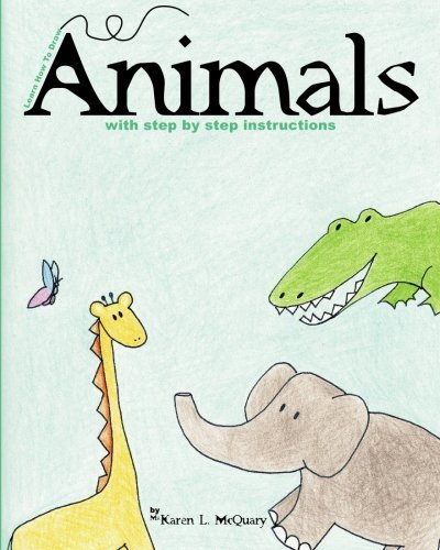 9781451524932: Learn How to Draw Animals