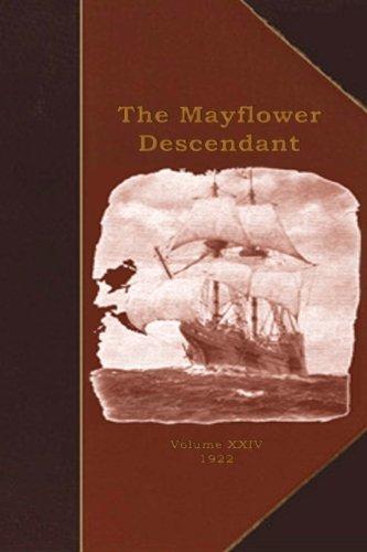 9781451529975: The Mayflower Descendant: A Quarterly Magazine of Pilgrim Genealogy and History
