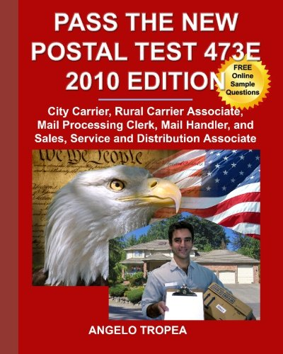 9781451559316: Pass the New Postal Test 473E 2010 Edition