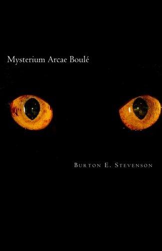 9781451564228: Mysterium Arcae Boulé: The Boulé Cabinet Mystery