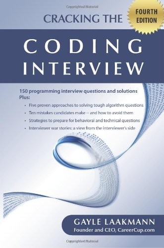 9781451578270: Cracking the Coding Interview, Fourth Edition: 150 Programming Interview Questions and Solutions