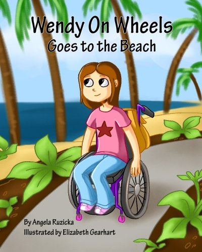 Wendy on Wheels Goes to the Beach: Ruzicka, Angela M