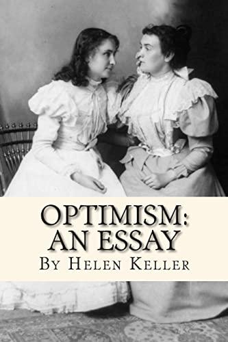 9781451589634: Optimism: An Essay