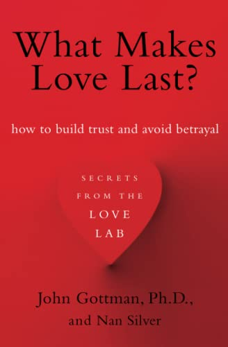 What Makes Love Last?: How to Build Trust and Avoid Betrayal: Gottman, John M