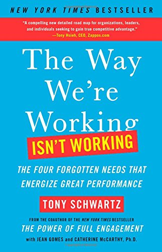 9781451610260: The Way We're Working Isn't Working: The Four Forgotten Needs That Energize Great Performance