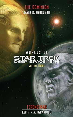 9781451613421: Star Trek: Deep Space Nine: Worlds of Deep Space Nine #3: Dominion and Ferenginar