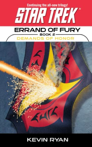 9781451613469: Star Trek: The Original Series: Errand of Fury #2: Demands of Honor (Star Trek: The Next Generation)